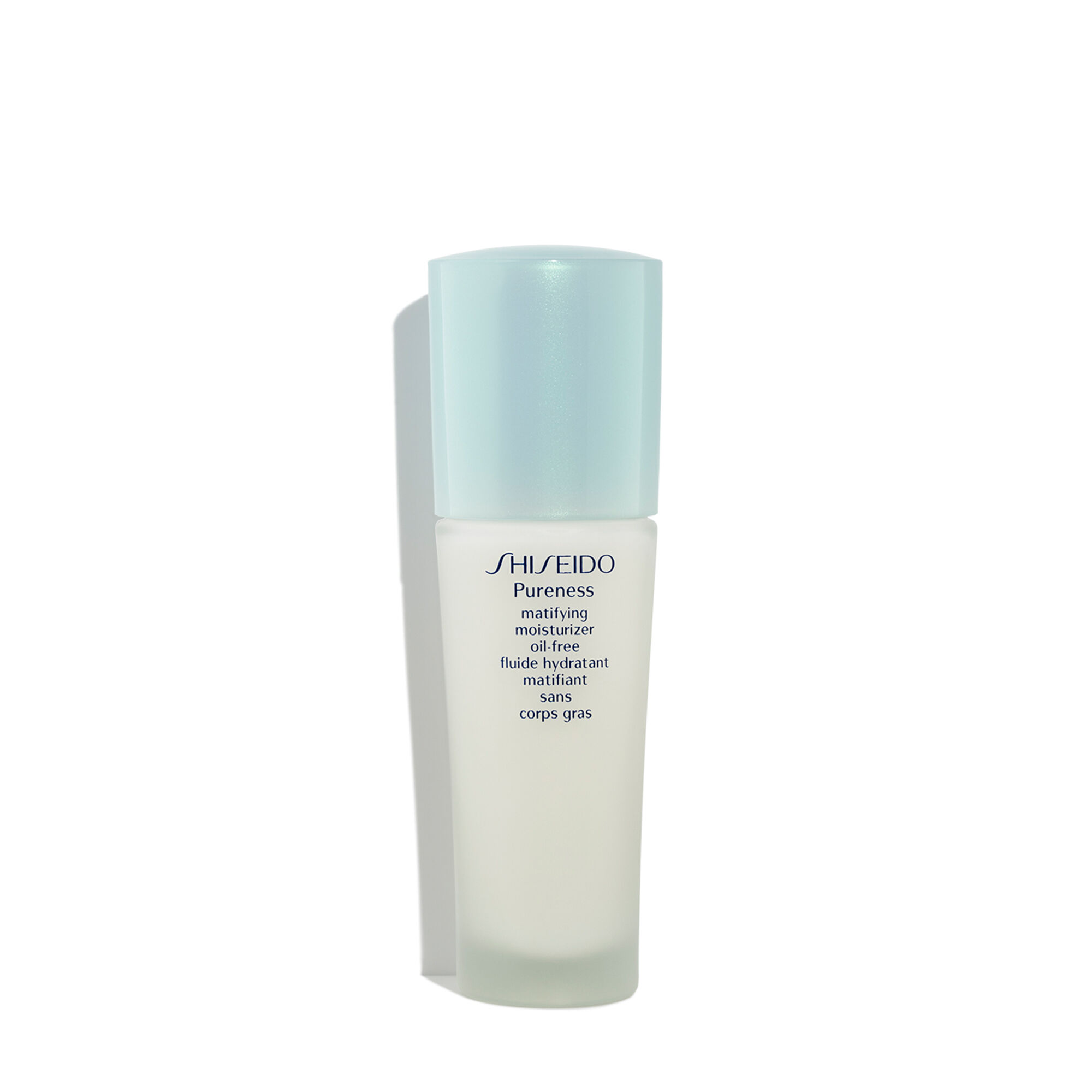 Shiseido - Pureness Matifying Moisturizer Oil-Free -50ml/1.7oz Electric Mini Portable Rechargeable Rotary Washing Pore Cleansing Device