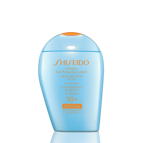 Ultimate Sun Protection Lotion WetForce for Sensitive Skin and Children SPF 50+,