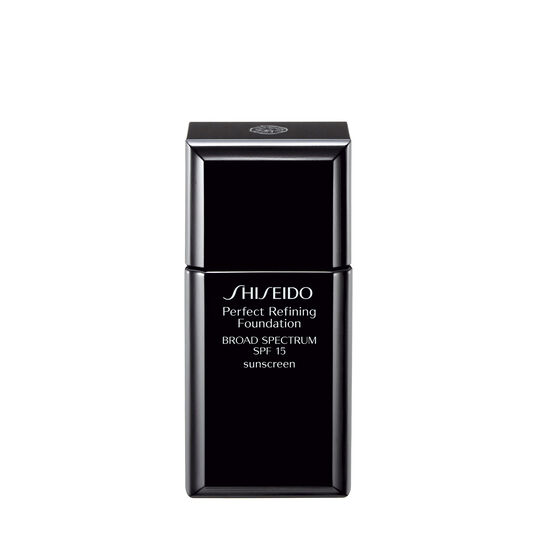 perfect refining foundation spf 15 shiseido. Black Bedroom Furniture Sets. Home Design Ideas