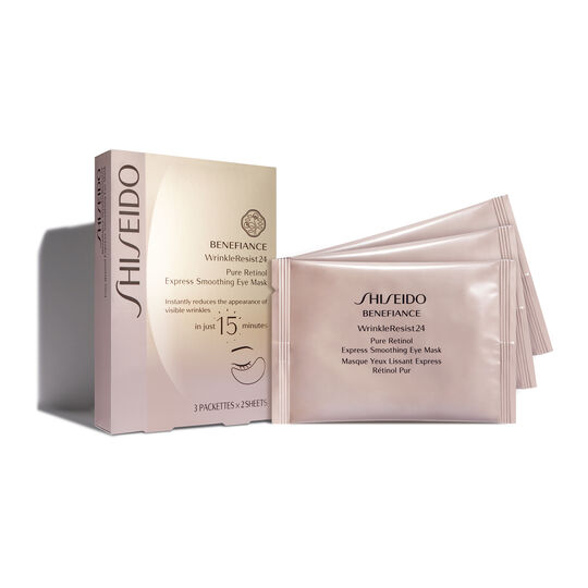 Benefiance WrinkleResist24 Pure Retinol Express Smoothing Eye Mask,