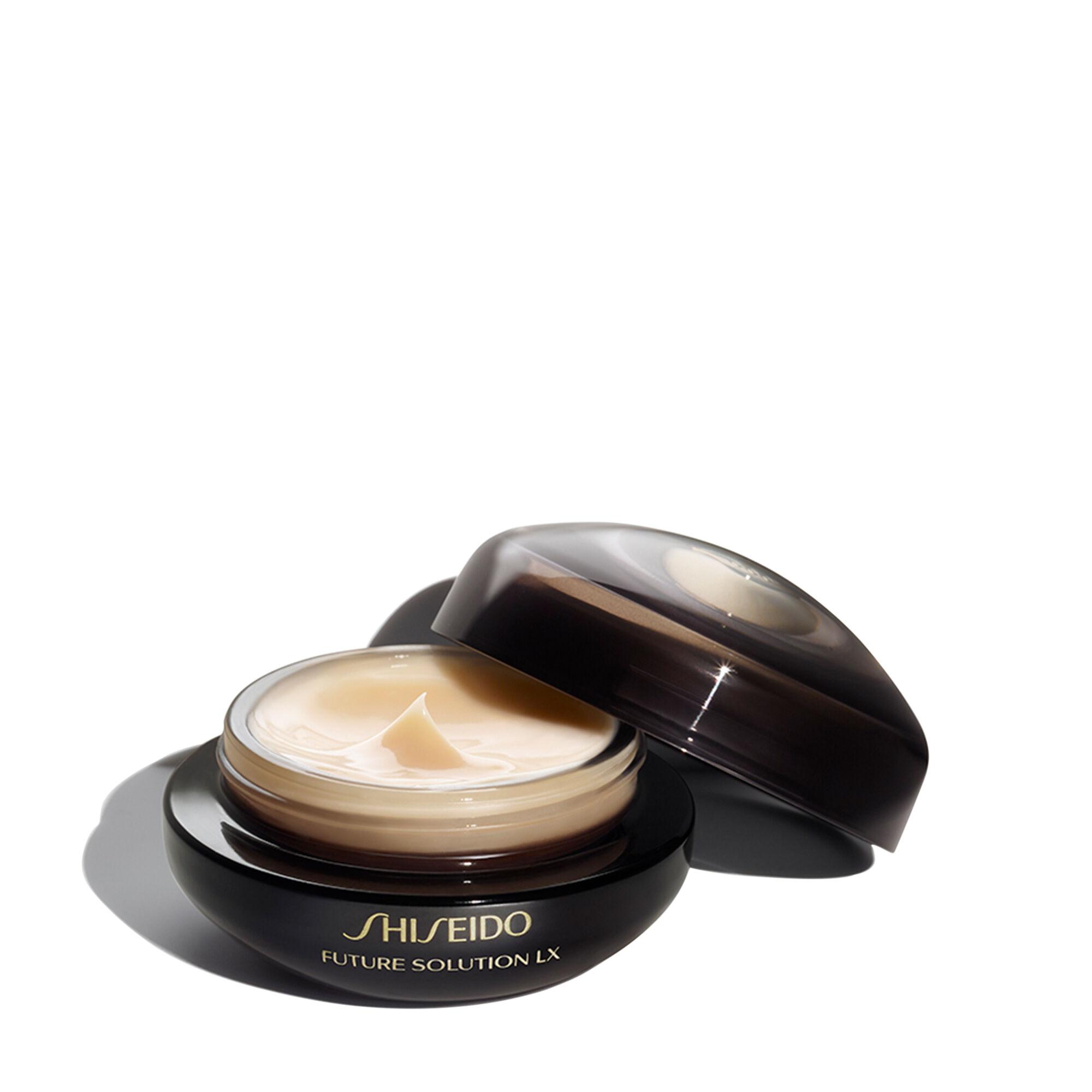 2 Pack - Shiseido Future Solution Lx Eye and Lip Contour Regenerating Cream for Unisex 0.54 oz Elizavecca, CF-Nest 97% B-Jo Serum, 50 ml(pack of 2)