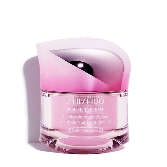 White Lucent MultiBright Night Cream Shiseido