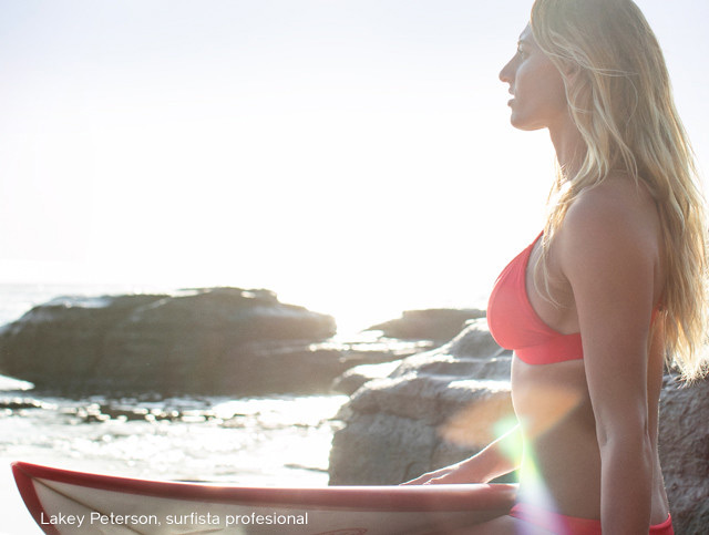 Foto de Sage Erickson, surfista profesional