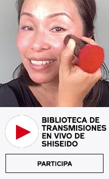 Biblioteca de transmisiones en vivo de Shiseido. Ver ahora.