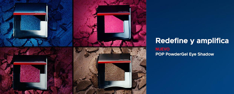 Nueva POP PowderGel Eye Shadow con productos. Ver el video ahora.