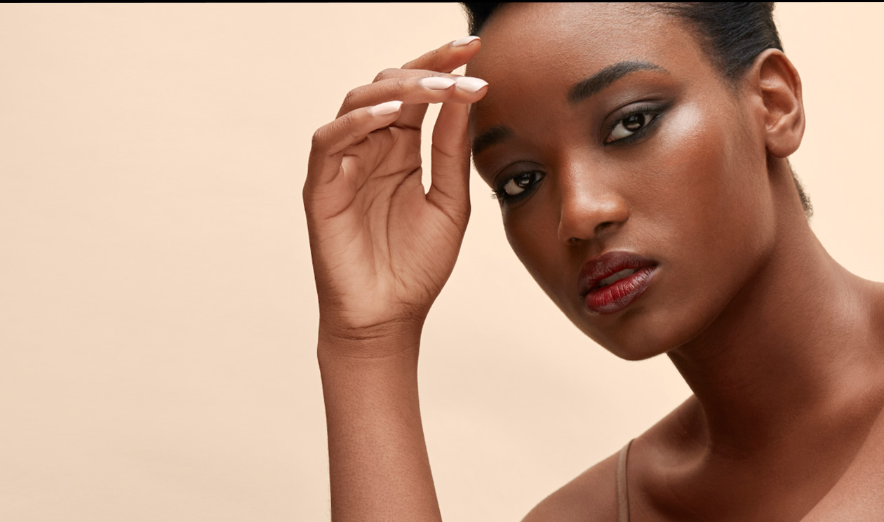 Shiseido Beauty Model