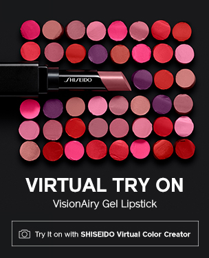 Virtual Try On. VisionAiry Gel Lipstick.