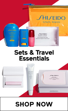 Sets & Travel Essentials. SHOP NOW