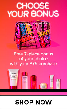 7-PIECE SKINCARE BONUS. SHOP NOW