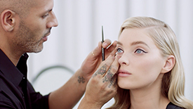 Hollywood Glam Look with Vincent Oquendo & Elsa Hosk