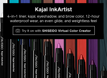 Kajal InkArtist. Try It on with SHISEIDO Virtual Color Creator